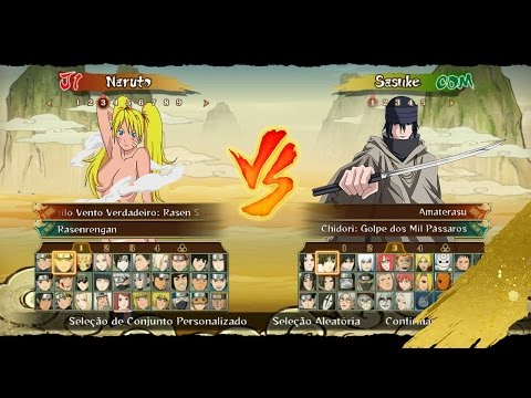DOWNLOAD Pack 4.4 MOD Naruto Ninja STORM Revolution™ NEW Costumes WIp, Characters, Stage modded!