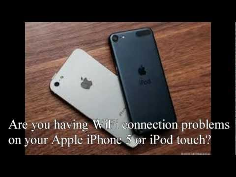 iPhone 5 WiFi problem fix (tutorial)