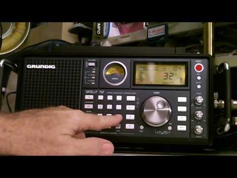 TRRS #0181 - Interesting Shortwave Listening on the Grundig Satellit 750