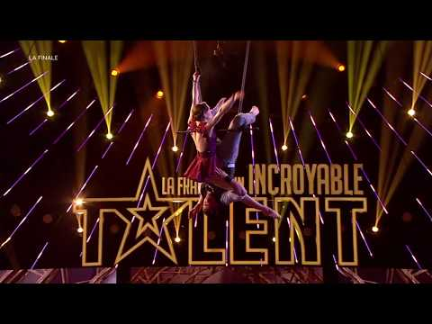 WOW ! The final performance of THE OWL AND THE PUSSYCAT on France's got talent !