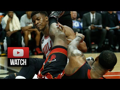 2014.03.09 - Jimmy Butler vs LeBron James Battle Highlights - Bulls vs Heat