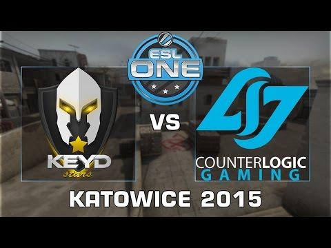 ESL One Katowice 2015 - Keyd Stars Vs. CLG - Grupo C