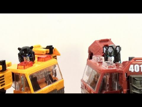 Video Review of the Transformers: Reveal the Shield; Solar Storm Grapple