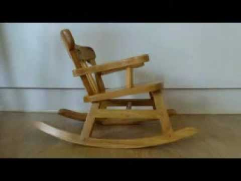 build a rocking chair drilling the angles youtube. Black Bedroom Furniture Sets. Home Design Ideas