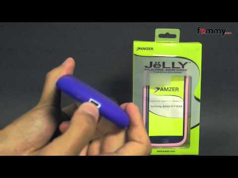 Amzer Silicone Skin Jelly Case for the Samsung Galaxy S III Review in HD