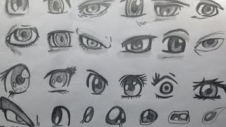 How to Draw Manga Eyes for the Absolute Beginner (9/23/ 2017)