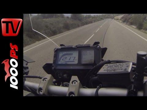 Yamaha MT-09 Tracer 2015   0-200km/h   Beschleunigung