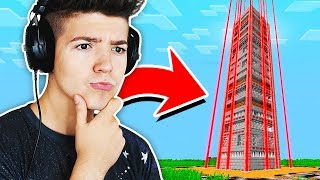 Is it possible to escape this Minecraft Tower?