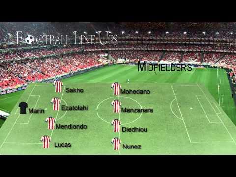 Chelsea U19 2-0 Atlético Madrid U19 (Atlético Starting Lineup) UEFA YOUTH LEAGUE 2014/2015