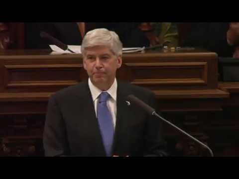 WATCH: Gov. Snyder's 2015 State of the State address