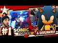 Lagu Sonic Forces (PC 4K 60FPS) Part 1 HARD MODE & GIVEAWAY