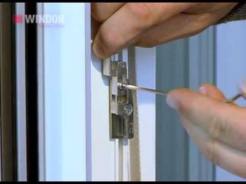 Einstellen des fl gelhebers am einfl geligen element youtube for Fenster richtig einstellen