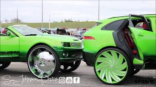 mlk carshow 2k19 (Foreign, lifted trucks, wet paint, old schools,big rims)