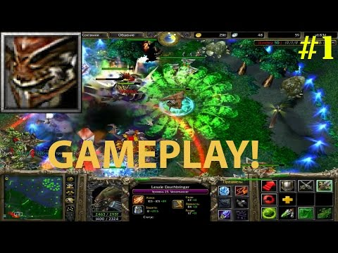DoTa 6.83d - Venomancer, Lesale Deathbringer ★ Gameplay! #1