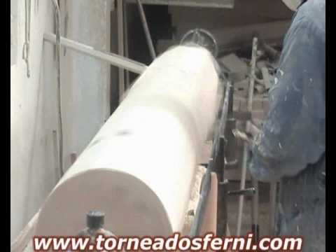 "Torneados Ferni presenta: torneado en madera ""columna 2.50 1ª parte"""