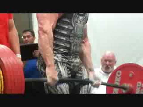 Footage from USPA Olympia Pro Powerlifting - Deadlift Clips Image 1