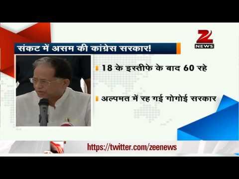 Assam: 32 Congress MLAs resign demanding removal of CM Tarun Gogoi