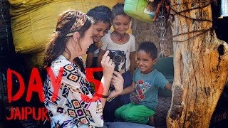AMERICANS IN INDIA: Visiting Rural India