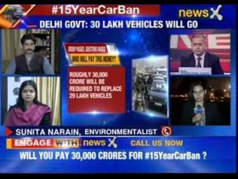 #15YearCarBan: 29 lakh vehicles to be banned in Delhi