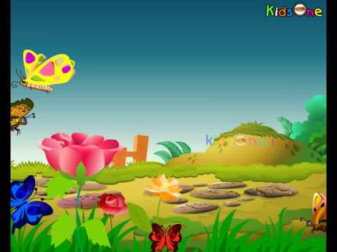 Thithli Thithli - Butterfly - Hindi Animated Nursery Rhymes - Kids ...