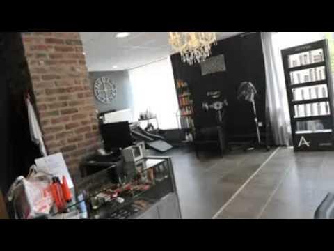 Le temps d 39 un style salon de coiffure soumagne youtube for Entretien d un salon en cuir