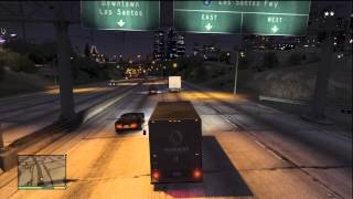 HOW TO ROB A TRUCK IN GTA 5 AND ESCAPE YOUR WANTED LEVEL (EARN QUICK MONEY)