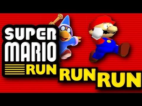 SM64: Super Mario RUN RUN RUN!