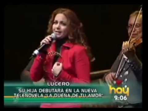 Hija de LUCERO debutará en La Dueña de Tu amor según programa Hoy.mpg.mp4