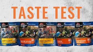 Freeze Dried Food Taste Test: MOUNTAIN HOUSE Edition!