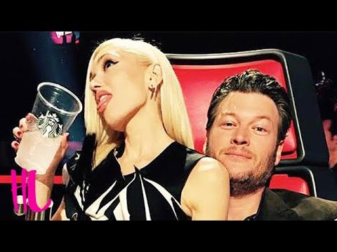 Gwen Stefani & Blake Shelton Flirting Interrupted By Adam Levine On 'The Voice'