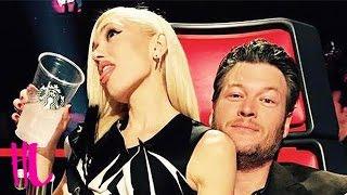 Gwen Stefani & Blake Shelton Flirting Interrupted By Adam Levine On 'The Voice'