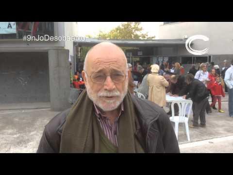 Arcadi Oliveres #9nJoDesobeeixo ProcésConstituent