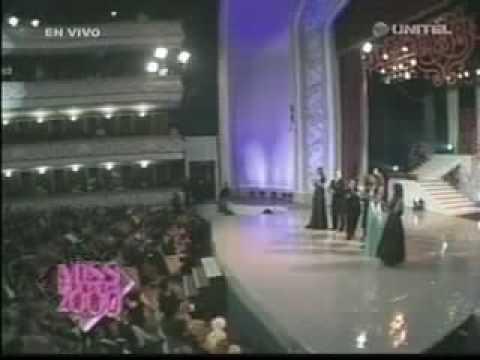 Dayana Mendoza & Taliana Vargas en El Miss Bolivia 2009/2010   Bolivia-red.Com  