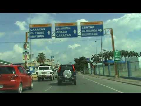 Avenida intercomunal de Puerto la Cruz, Estado Anzoategui