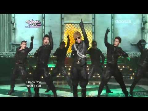 111223 [music Bank] Kim Hyun Joong - Breakdown & Special Performance video