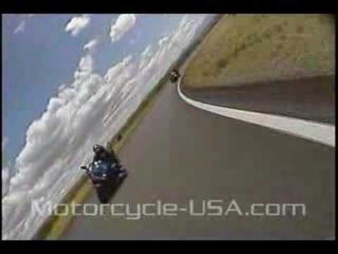 Kawasaki Ninja ZX-6R Motorcycle Track Test Video