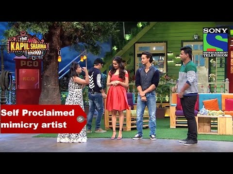 Tiger and Shraddha come across Self Proclaimed mimicry artist - The Kapil Sharma Show thumbnail