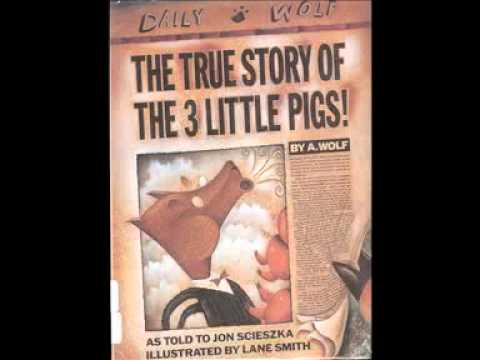 The true story of the three little pigs youtube