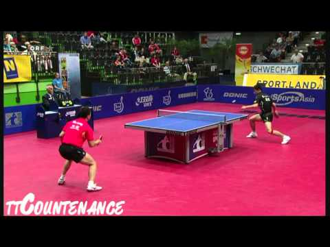 Austrian Open: Ma Long-Zhang Jike