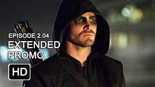 Arrow 2x04 Extended Promo - Crucible [HD]