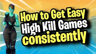 *UPDATED* How to get HIGH KILL games in Fortnite Season 7 - Win every game easily with 15+ kills!