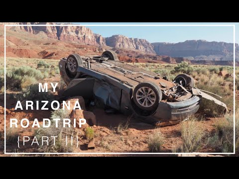 HOW I NEARLY KILLED MYSELF IN THE DESERT... Arizona Roadtrip {Part 2} #1