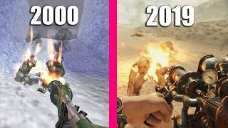 Flamethrower Graphics Evolution in 19 Years of Gaming