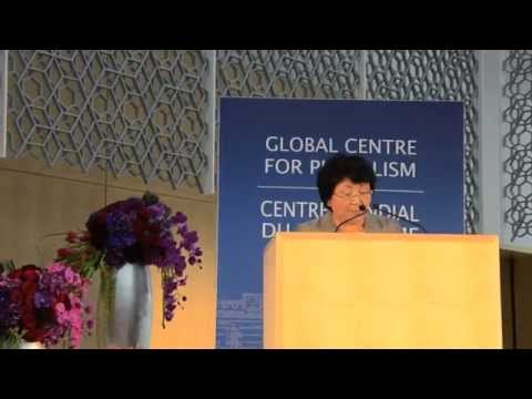 R.Otunbayeva's Lecture at the Global Center on Pluralism