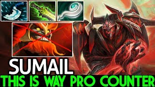 SumaiL [Shadow Fiend] This is Way Pro Counter New Hero Mars 7.21 Dota 2
