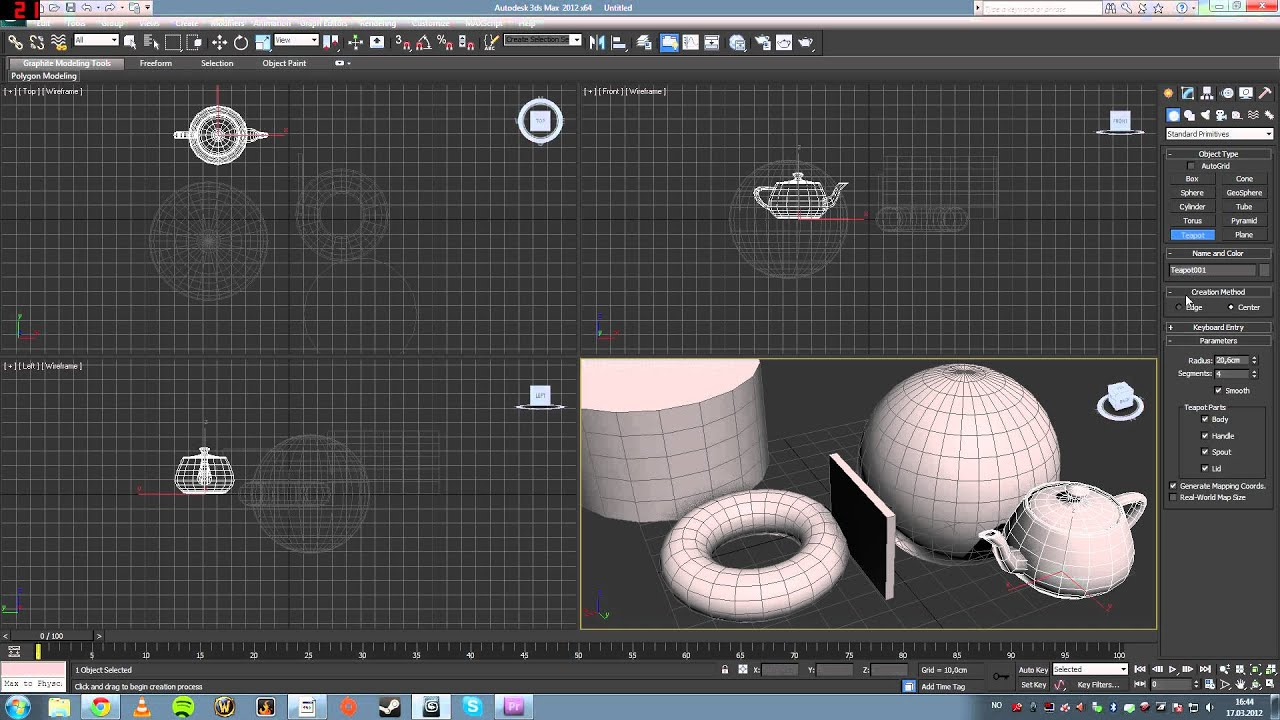 3ds Max Exterior Models Modeling in 3ds Max Part 1