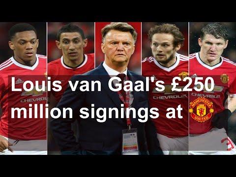 Louis van Gaal's Manchester United Signings