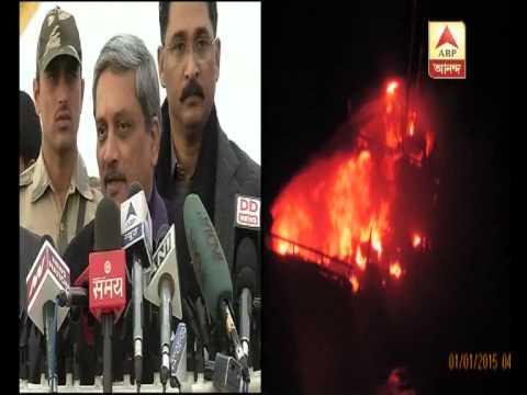 Bombed Pakistani boat had terror links:  Parrikar