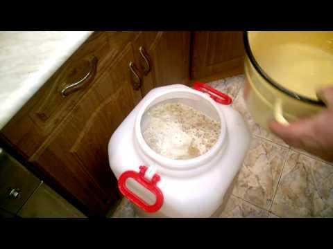 Поставить брагу в домашних условиях на меду