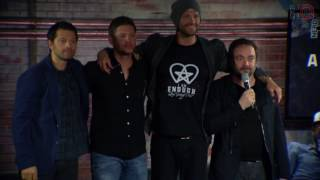 Nerd HQ 2016: Tippy Toes (Supernatural Conversation #2 Highlight)